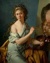 Autoportrait de Marie-Guillemine Le Roux de la Ville