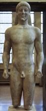 Kouros, Archaic Greek sculpture