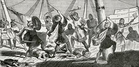 Admiral Garrocho, Cronica General de España, Historia Ilustrada y Descriptiva de sus Provincias