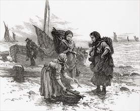 Scottish fishwives in the 19th century