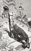 St. Francis brings the wolf to the city