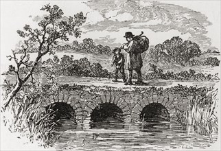 The first bridge over the River Thames