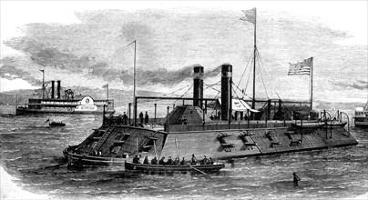 American battleship 1864