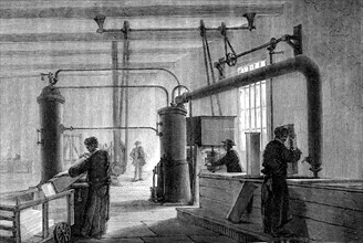 Ice factory in 1880