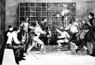Fencers sport