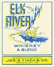 Elk River Whiskey A Blend