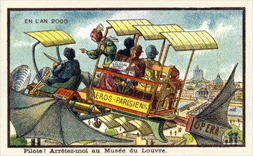 Pilote! Arretez-moi au Musee du Louvre