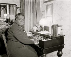 Mary Bethune, in charge of the Colored Section
