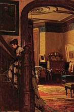 The Interior of the Artist's Home