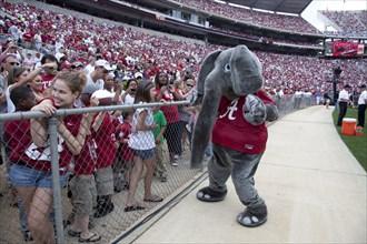Alabama Football Scrimmage
