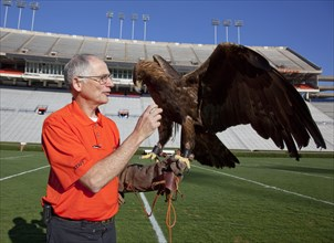 Auburn mascot Bald Eagle