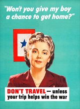 Don't Travel - Unless