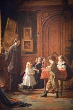 Christmas-Time, The Blodgett Family, 1864