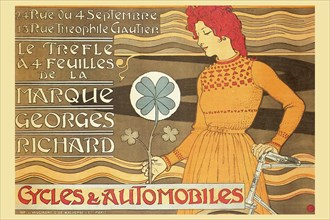 Cycles & Automobile by Marque George Richard