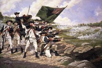 Battle of Long Island; Delaware regiment