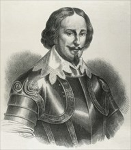 Maurice of Nassau (1567-1625). Prince of Orange. Portrait. Engraving.