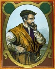 Jacques Cartier (1491– 1557). French explorer. Portrait.