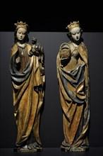 Saints Margaret and Doroty.