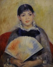 Girl with a Fan.
