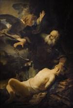 Sacrifice of Isaac.