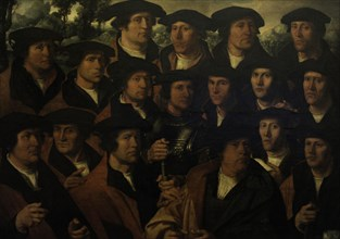 Group Portrait of the Amsterdam Shooting Corporation.