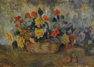A Flower Basket.
