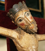 Christ. Second half of the 3th century. From Solsona.