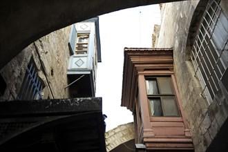 Via Dolorosa. Balcony.