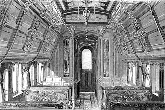 Interior of a Pullman car
