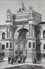 Gate of the Exposition Universelle of 1855
