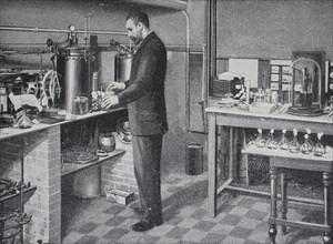 production of Plague vaccine at the Pasteur Institute at Paris