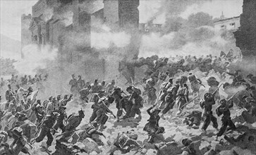 Attack on the Porta Pia at Rome