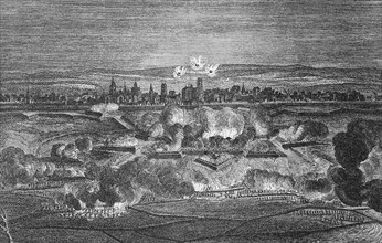 Bombardment of the citadel of Ypres