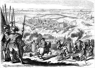 The siege of Jülich in 1610