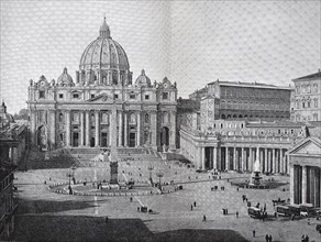 St. Peter's Basilica and the Vatican in Rome