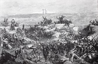 The French assault on Malakow on September 8