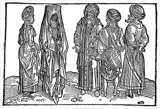 Oriental women and men