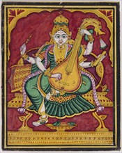 Représentation de Saraswati