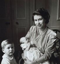 La princesse Elisabeth et ses enfants