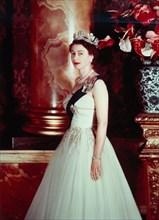 La reine Elisabeth II à Buckingham Palace