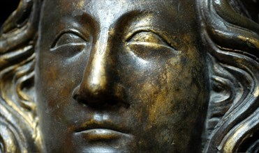 Moulage du visage d'Aliénor de Castille de William Torel