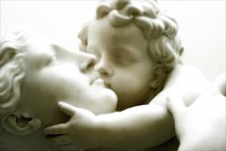 Hodges Baily, L'Amour maternel (détail)