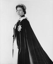 Portrait de la reine Elisabeth II