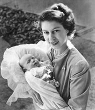 La princesse Elisabeth et sa fille la princesse Anne