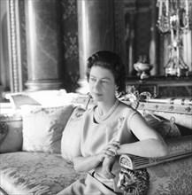 La reine Elisabeth II en 1968