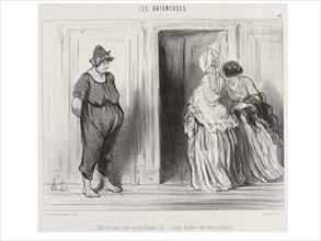 Daumier, Elle Est Bien Mais Faudra Voir Tout à L' Heure