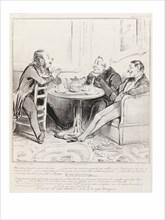 Daumier, Une Autre Fois Je Fis Encore un Bon Tour