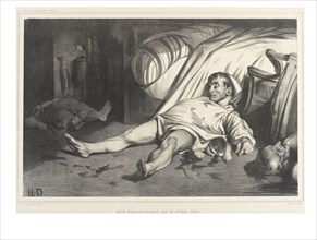 Daumier, Rue Transnonain