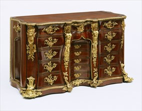 Library Commode. Wiltshire, England, mid-18th century