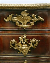 Library Commode. Fonthill Splendens, Wiltshire, England, mid-18th century